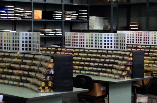 I banchi dei colori