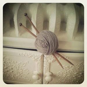 Sowool, knitting in progress