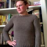 Il maglione top down di Frida Selva