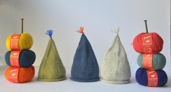 Cappellini realizzati con Lamora