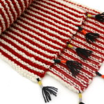 La sciarpa a righe in SoWool di WoolINSPIRATION