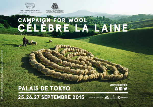 Campaign for Wool a Parigi