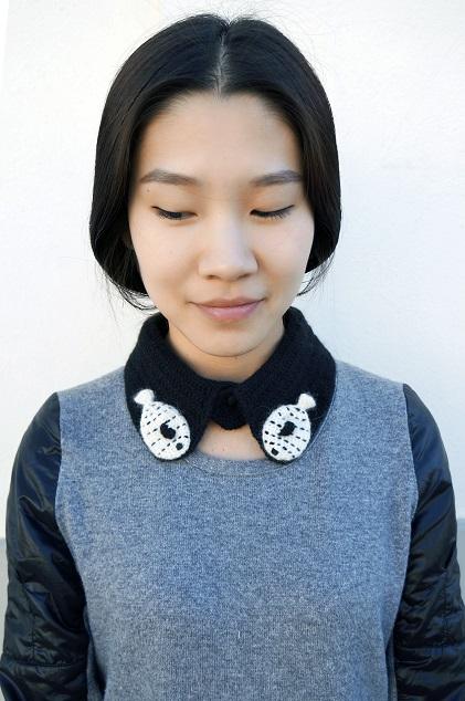 Fish collar by Lolo Wang