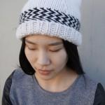 Cappello a maglia di Lolo Wang
