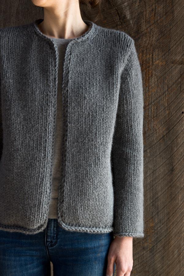 0ee175700f La classica giacca ai ferri di Purl Soho | Lanecardate - Handknitting